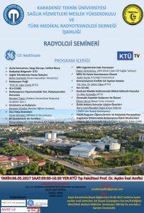 Radyoloji Eğitim Semineri @ KTÜ Tıp Fakültesi Prof.Dr. Aydın İnal Kampüsü