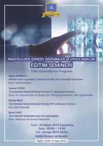 Radyolojide Güncel Değişimler ve Uygulamalar Eğitim Semineri @ Avrupa MYO Amfisi | İstanbul | Türkiye