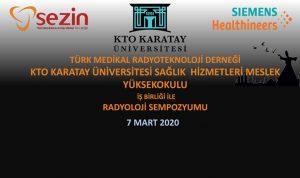 Konya Radyoloji Sempozyumu 2020 @ KTO Karatay Üniversitesi Sosyal tesisler